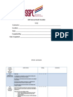 SSPC QN 1 Audit Checklist