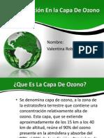 Contaminación En la Capa De Ozono