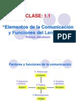 Clase 1-1 Elementos y Funciones Del Lenguaje
