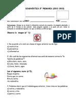DIAGNÓSTICO 5° PRIMARIA.doc