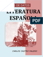 BANCO DE DATOS DE LA LITERATURA ESPAÑOLA - CARLOS CASTRO