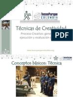 CREATIVIDAD TECNICAS