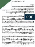 Bach Violin Concerto No. 1