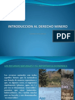 1. Introduccion Der. Minero