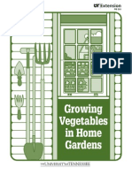 Growing Vegetables in Home Gardens