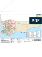 LGA Boundaries of Southern WA