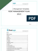 Risk Management Plan & Template