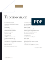 Tu Perro Se Muere Poema