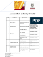Checklist for Building Fire Safety