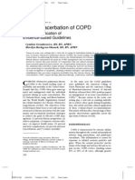 Acute Exacerbation of COPD Nursing Application of Evidence-Based Guidelines
