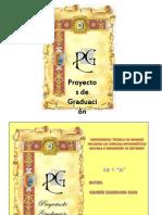 proyectos de graduación