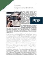 Desindustrializaçao brasileira