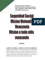 informe gran mision vivienda GRAN MISION VIVIENDA VENEZUELA.docx