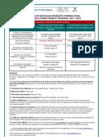 UM Formulario de Postulacin Al Intercambio - Application Form UM Exchange Program