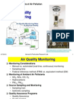 Air Quality Monitoring
