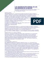 Ley 74 Del 91 Organizacion Gral de Las Ffaa