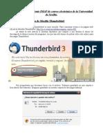 Configuracion Thunderbird Imap