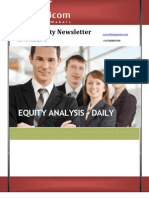 Daily Equity News Letter 08april2013