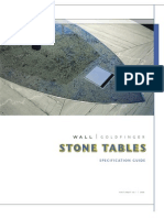 WG Stone Table Brochure