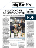 The Daily Tar Heel for April 8, 2013