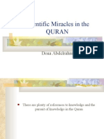 Scientific Miracles in the QURAN