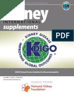 KDIGO GN Guideline Glomerulonefritis