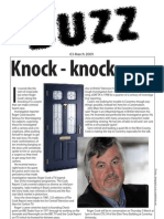 The Buzz Newsletter 3rd March 2009 Coventry University