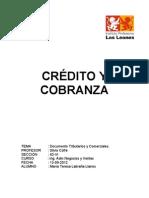 Trabajo Credito y Cobranza