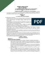 Ley 136 Del 69 Aprueba La Convencion Sobre Los Estatutos De