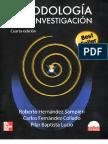 Roberto Hernández, Carlos Fernández y Pilar Baptista, Metodología de la investigación