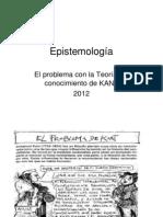 Teoria del Conocimiento de Kant.ppt