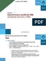 Ajax y XMLHttpRequest