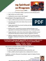 Shaping Spiritual Practice Program (Info)