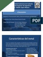 Cianuracion de Metales