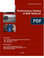 AHEC-Performance Testing for SHP Booklet