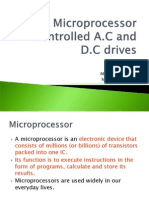 Microprocessor Controlled Ac and Dc Drives Ppt