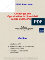 Challenges and Opportunities for Smart Grid in Asia and the Pacific - Naoki Sakai