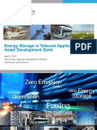 Energy Storage in Telecom Applications - Alan Kneisz
