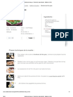 Bonbons de foie gras - Recette de cuisine illustrée - Meilleur du Chef