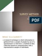 Class_12 Survey Method