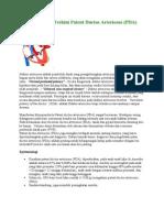 Penanganan Terkini Patent Ductus Arteriosus