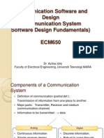 Communication Software and Design (Chapter 2)