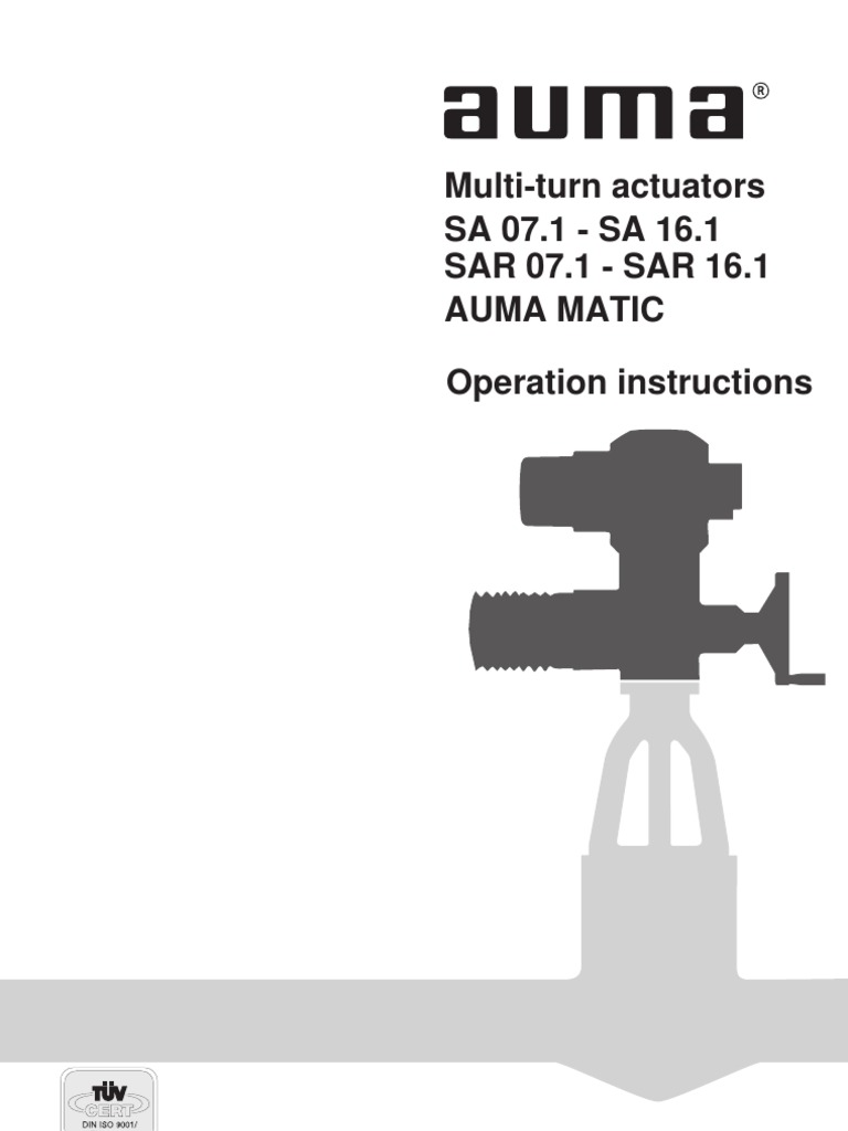 auma matic actuator wiring diagram