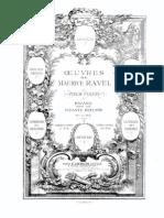 Pavane Pour Une Infante Defunte-Ravel