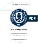 UConn CAD Standards Guideline-April2011
