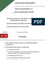 Macroeconomia Avançada I - Capitulo 7