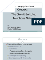 Telecommunication Switching Theory