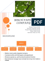 Birch Paper