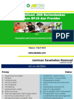 Materi Sosialisasi BPJS di RSUD dr. H. Soemarno Sosroatmodjo 2013