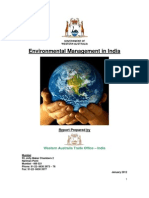 India Environmental Management Report January 2012[1]